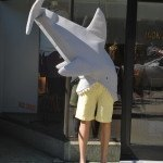 Shark attacks are common on trendy Newbury Street