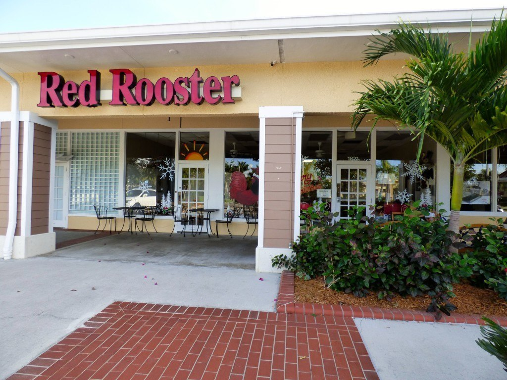 Red Rooster on Marco Island Florida
