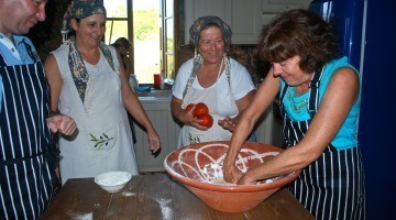 cooking class in Greece