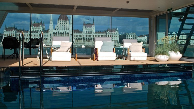 The pool on the new ships of Emerald Waterways - love it!